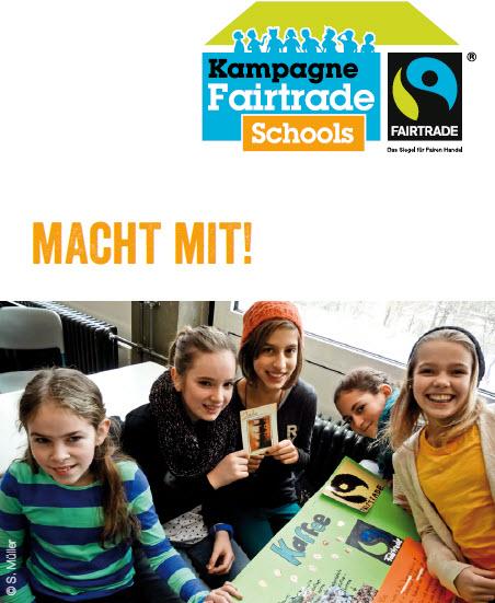 Ausschnitt Fairtrade-Schools-Flyer. Quelle: fairtrade-deutschland.de