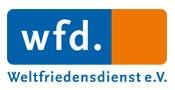 Logo Weltfriedensdienst. Quelle: wfd.de