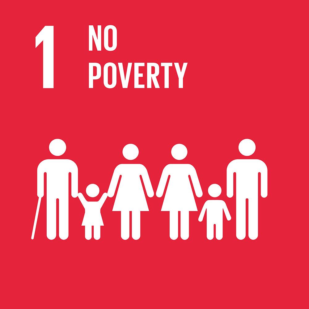 SDG Nummer 1. Quelle: https://sustainabledevelopment.un.org