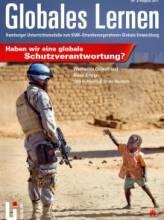 """Titelseite """"Globales Lernen: """"Haben wir eine globale Schutzverantwortung?"""" Quelle: li.hamburg.de"""