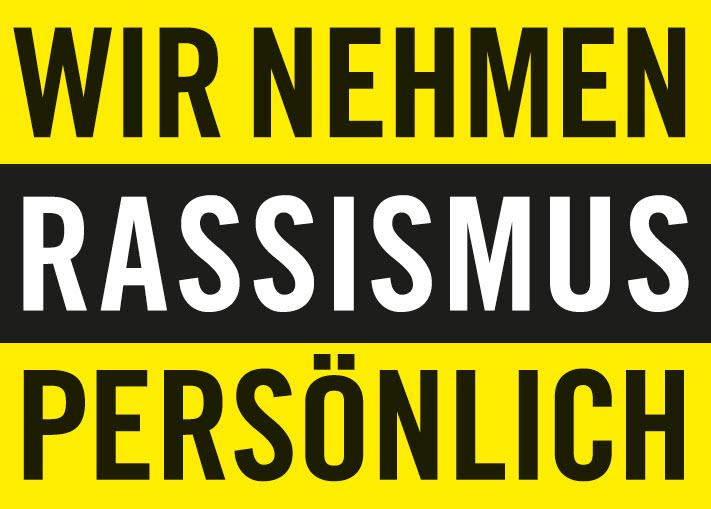 Titelseite Broschüre: Wir nehmen Rassismus persönlich. Quelle: https://www.amnesty.de