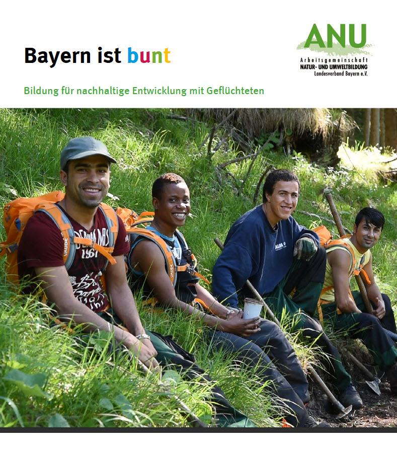 Titelseite der Publikation. Quelle: ANU Bayern e.V.