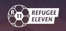 Logo REFUGEE ELEVEN Quelle:refugee11.de