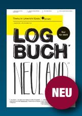"""Logo: """"Log-Buch Neuland"""" Quelle: bpb.de"""