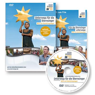 """Logo """"Film: Unterwegs für die Sternsinger: Willi im Flüchtlingslager"""" Quelle:"""