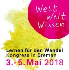 """Motiv Aufkleber zum 7. """"WeltWeitWissen""""-Kongress"""