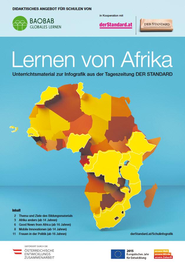 Titelseite des Materials. Quelle: baobab.at