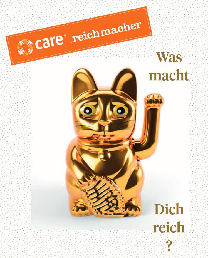 Titelseite CARE Reichmacher. Quelle: care.de