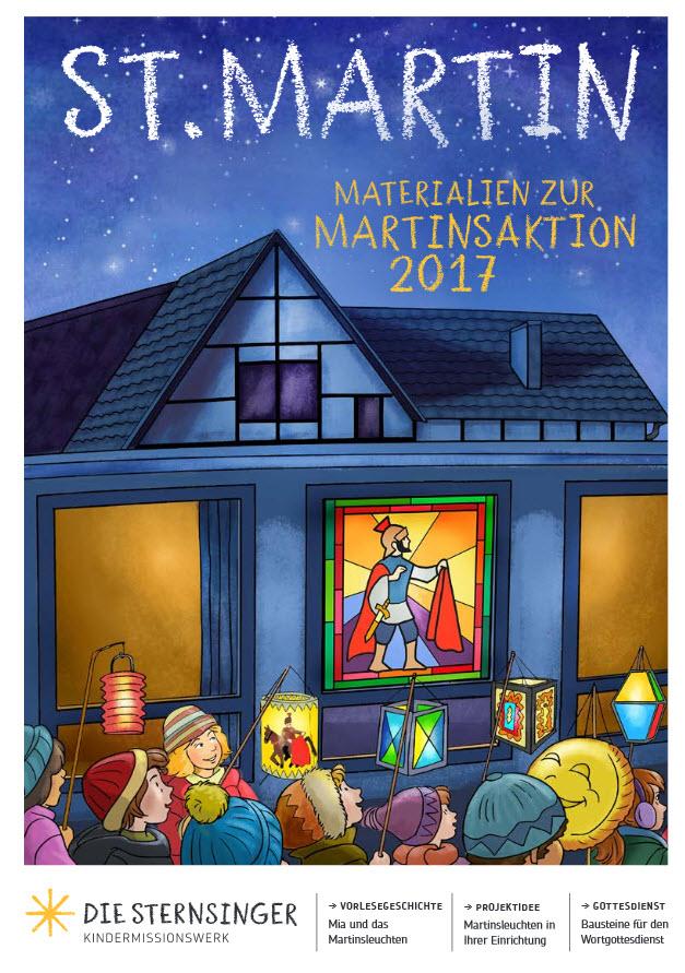 Titelseite der Broschüre zur Martinsaktion. Quelle: sternsinger.de