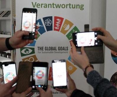 Motiv zum Fotoaufruf zu den Themen der Agenda 2030. Quelle: ewnt.org