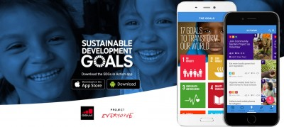 "App ""SDG in Action"". Quelle: https://sdgsinaction.com/"