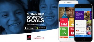 "App ""SDG in Action"". Quelle: https://sdgsinaction.com/"