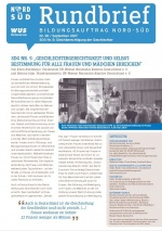 Titelblatt Rundbrief Bildungsauftrag Nord-Süd September 2017