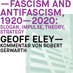 Conference Fascism and Antifascism in Our Time