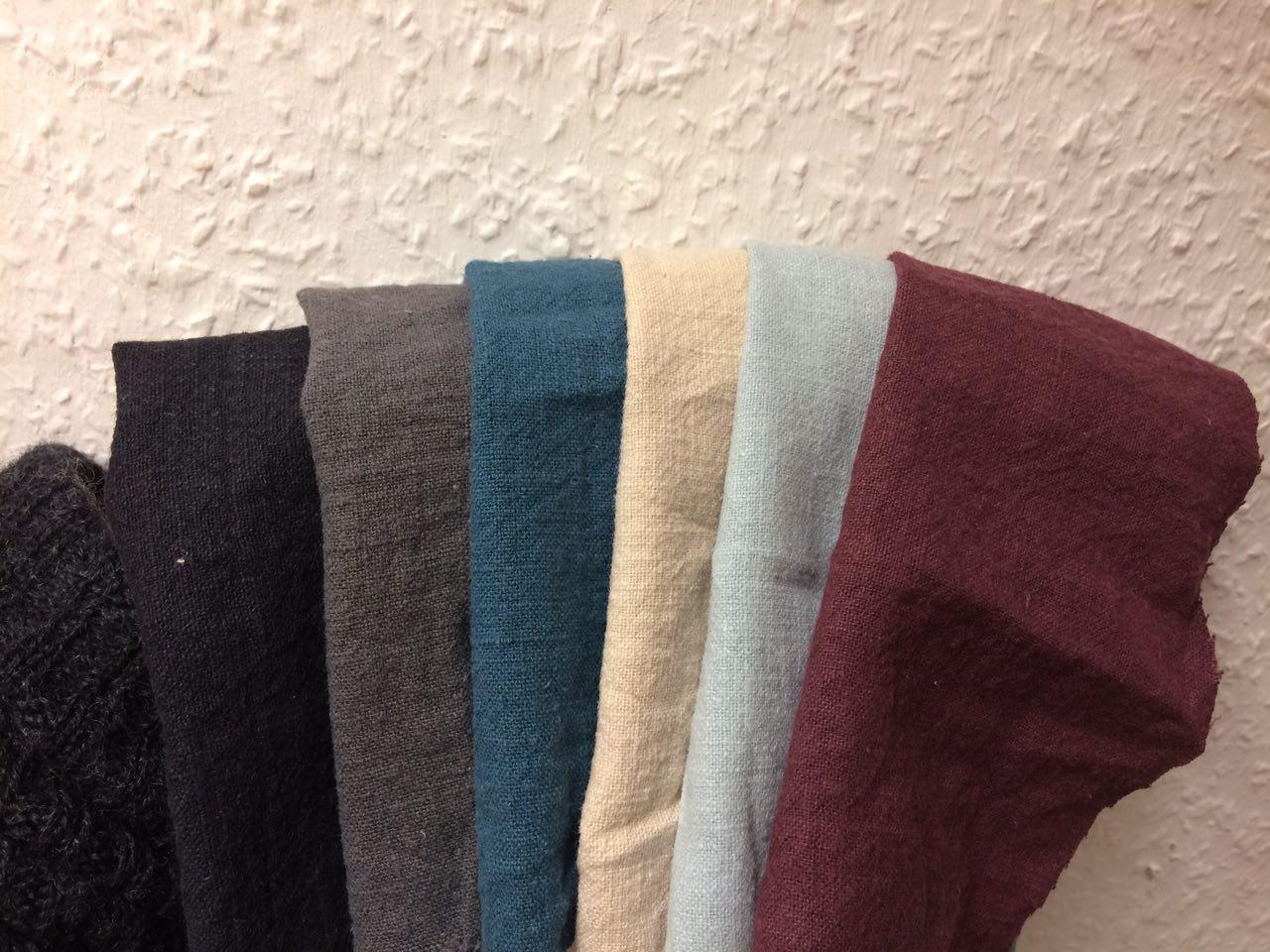 Neues Material Ramie und neue Farben
