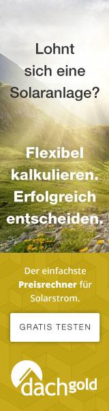 Dachgold Gestehungskostenrechner (Affiliate-Link)
