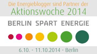 "Aktionswoche ""Berlin spart Energie"""