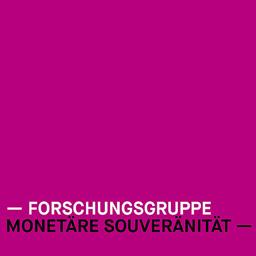 Logo, Forschungsgruppe Monetäre Souveränität