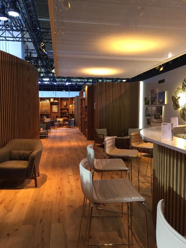 Lexus Lounge auf der IAA Frankfurt, 2017