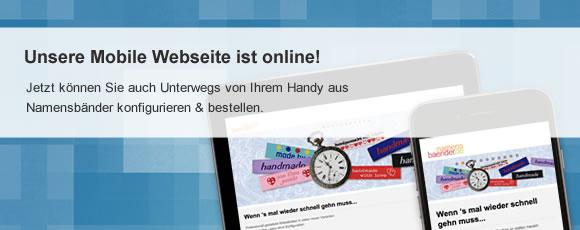 Mobile Version der Seite