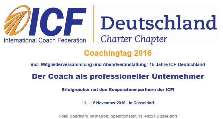 ICF Coachingtag 2016 / MV / 15 Jahre ICF D