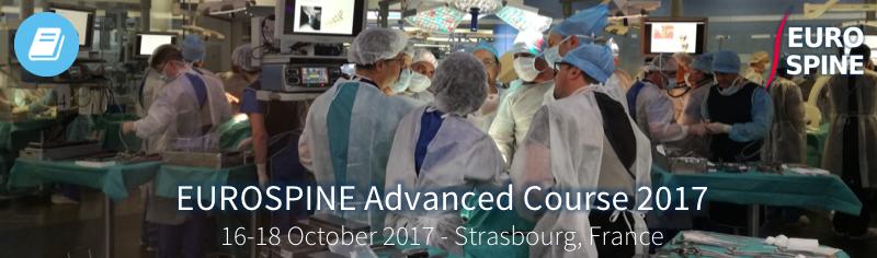 EUROSPINE Advanced Course 2017