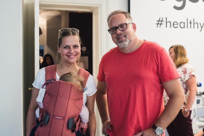 Hauptstadtmutti Isa Grütering mit stylernaking-Gründer Roland Schweins. Foto: Josephine Neubert Fotografie für styleranking