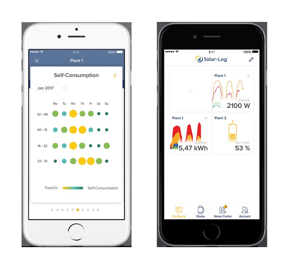 La nueva App Solar-Log WEB Enerest™