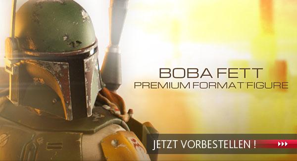 Boba Fett Premium Format Statue jetzt vorbestellen