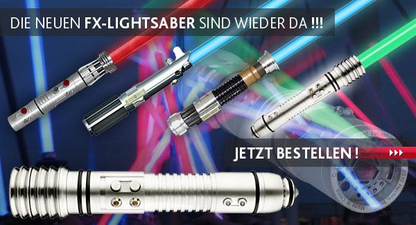 Star Wars Signature FX Lichtschwerter wieder lieferbar