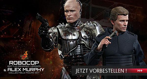 """Robocop & Alex Murphy 12"""" Figuren von Hot Toys vorbestellen"""