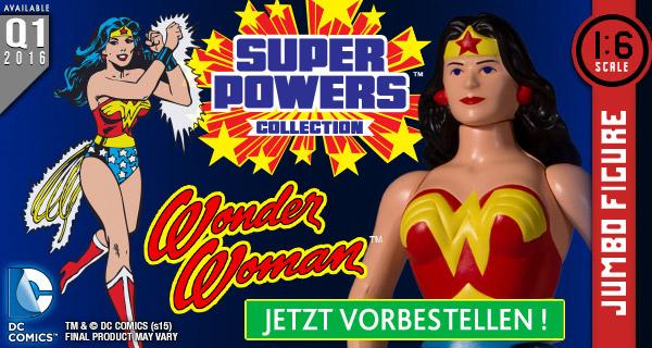 Wonder Woman Jumbo Figur jetzt vorbestellen!