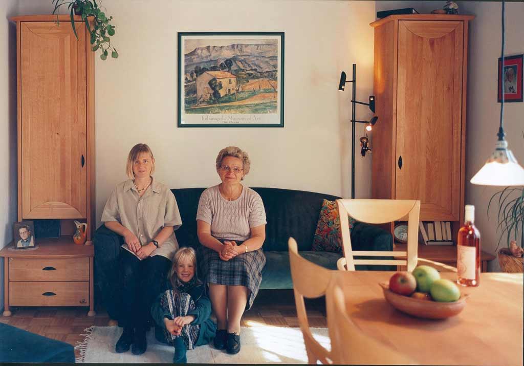 """Kalender 1997  """"Zwei Mütter und zwei Töchter"""""""