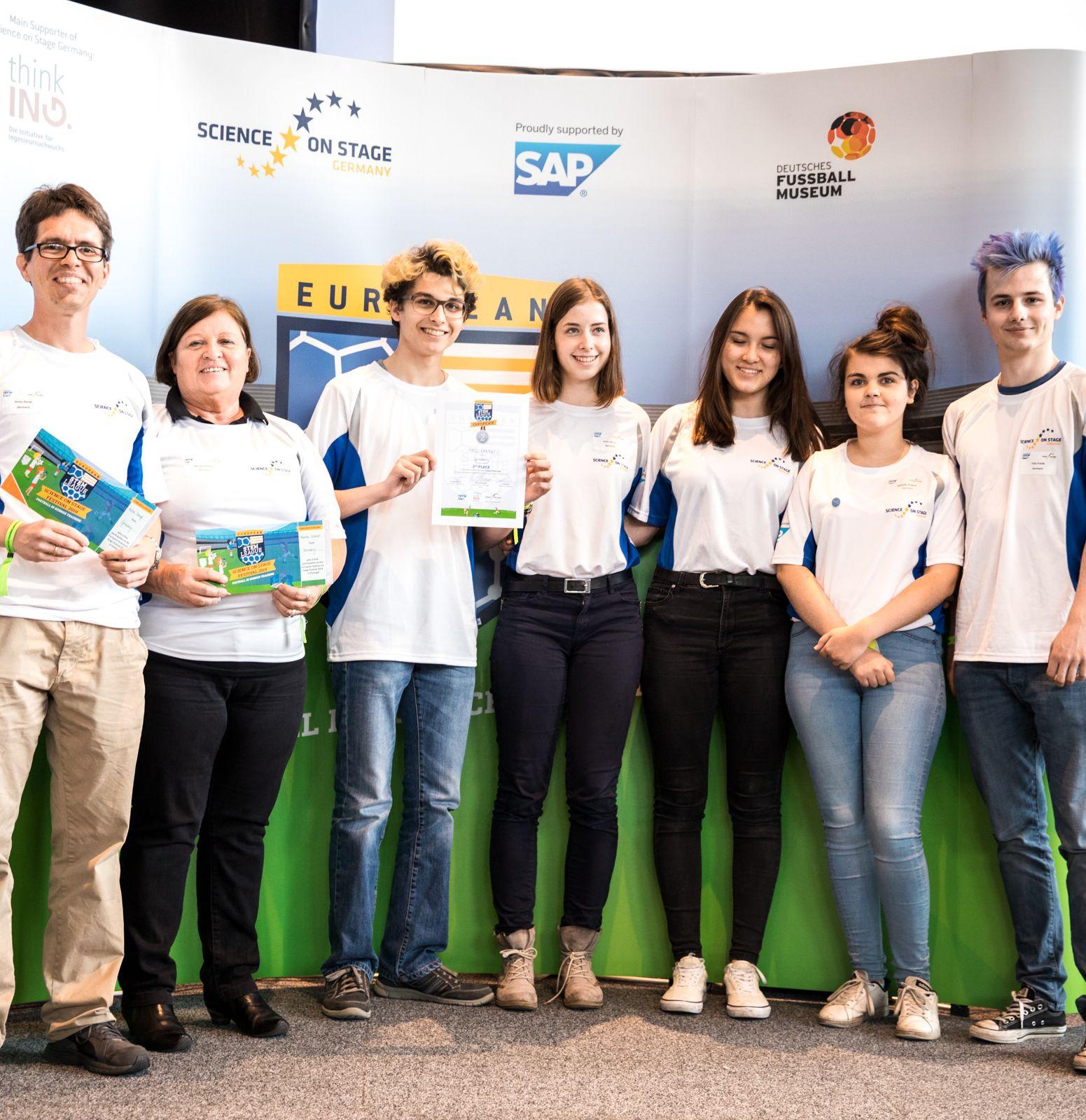European STEM League Platz 2