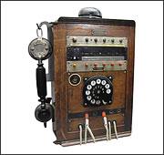 Telefonstation 06 Holz