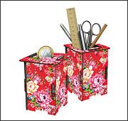 Twin Box 103 Bunte Blumen