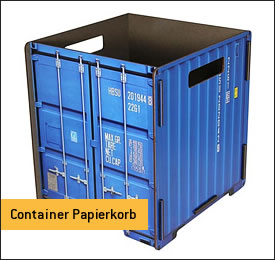 Container Papierkorb