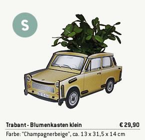 Trabant Blumenkasten klein
