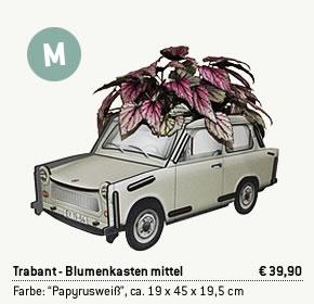 Trabant Blumenkasten mittel