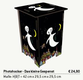 Photohocker - Das kleine Gespenst