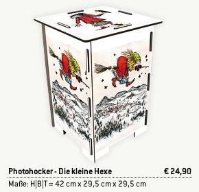 Photohocker - Die kleine Hexe