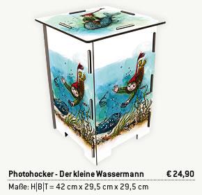 Photohocker - Der kleine Wassermann