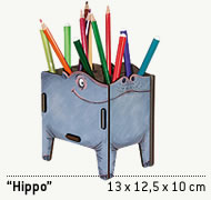 Hippo Stiftebox