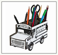 Stiftebox Schoolbus