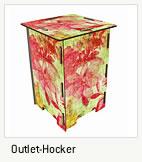 Outlet Hocker