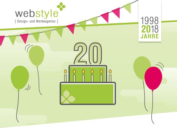 20 Jahre web-style