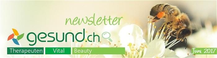 gesund newsletter Juni 2017