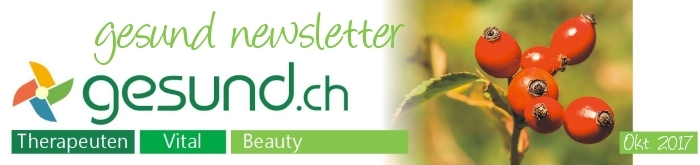 gesund newsletter Oktober 2017