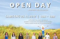 EINLADUNG OPEN DAY