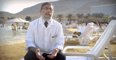 Klimatherapie am Toten Meer